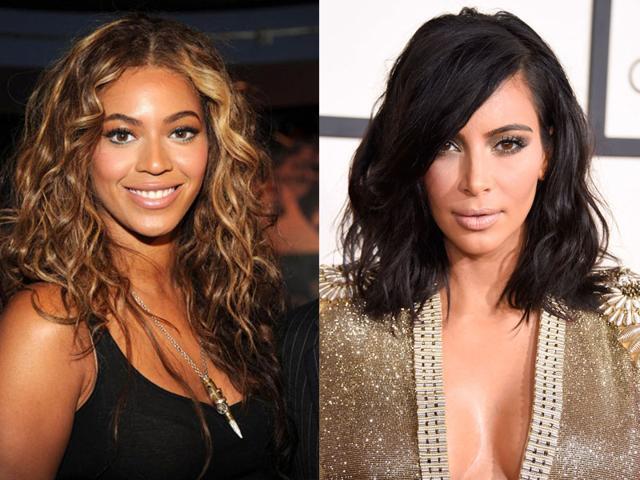 Kim Kardashian,Beyonce