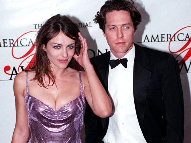 I love Hugh Grant but he is very grumpy: Elizabeth Hurley ...