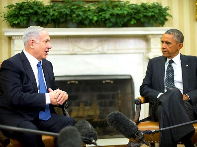 In-this-file-photo-US-President-Barack-Obama-meets-with-Israeli-Prime-Minister-Benjamin-Netanyahu-in-the-Oval-Office-of-the-White-House-in-Washington-AP-Photo