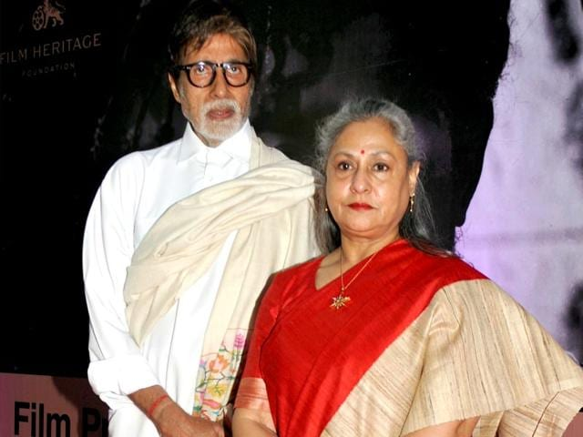 Amitabh-Bachchan-and-Jaya-Bachchan-caught-in-sharing-a-candid-moment-at-the-launch-of-an-advance-technology-in-eye-care-in-Mumbai-on-Wednesday-PTI-Photo