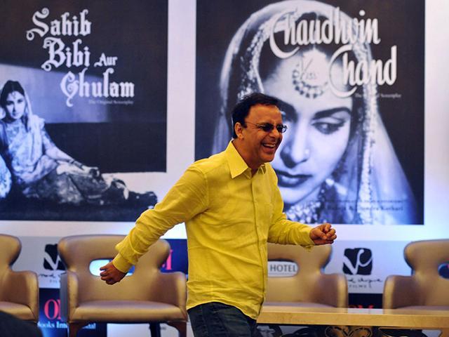 I don't like stars and they don't like me: Vidhu Vinod Chopra