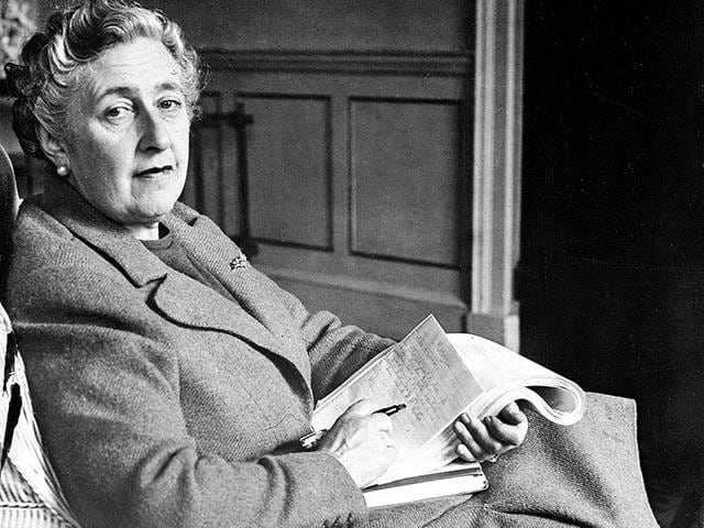 Agatha Christie,English crime novelist,Murder mysteries