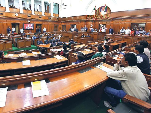 MLAs-of-Delhi-during-a-session-of-the-state-assembly-Raj-K-Raj-HT-Photo