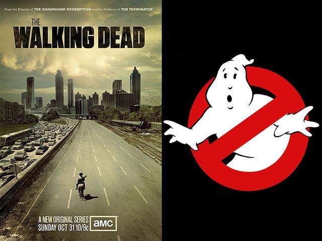 Ghostbusters,The Walking Dead