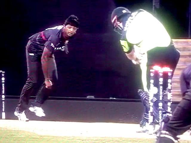Ed-Joyce-was-bowled--but-bails-refused-to-fall-off