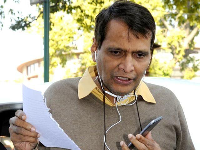 rail budget,railway minister,suresh prabhu