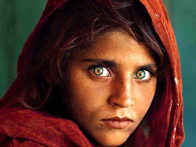 Afghan girl. national geographic