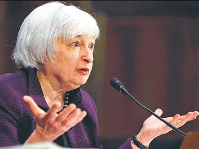 Janet Yellen,US Federal Reserve,Interest rates