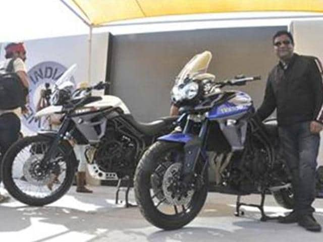 Triumph,Tiger XCx and the Tiger XRx