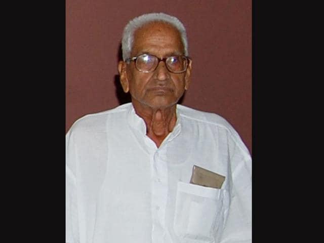 Haryana-Former-CM-Hukam-Singh-