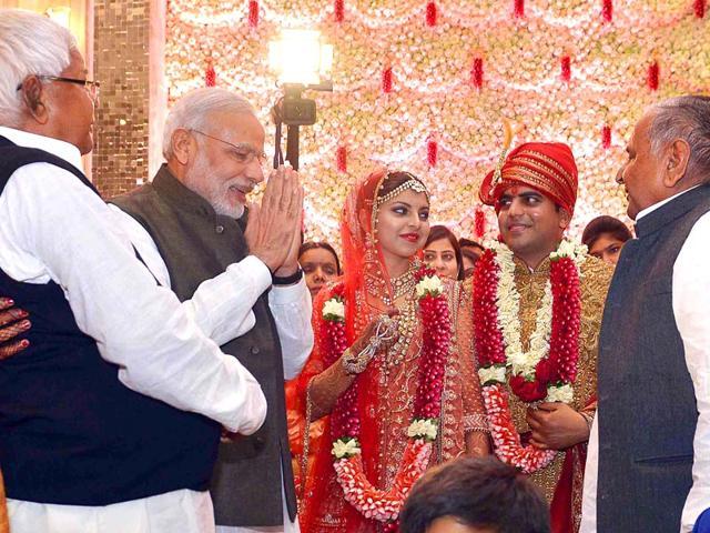wedding,mulayam singh yadav,lalu prasad