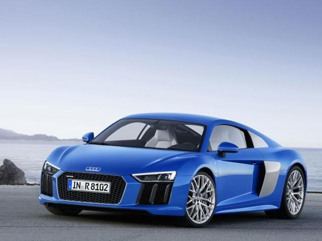 New Audi R8,R8 V10