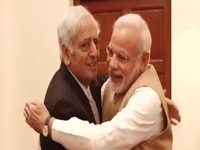 Mufti Muhammad Sayeed,J&K govt,BJP-PDP coalition
