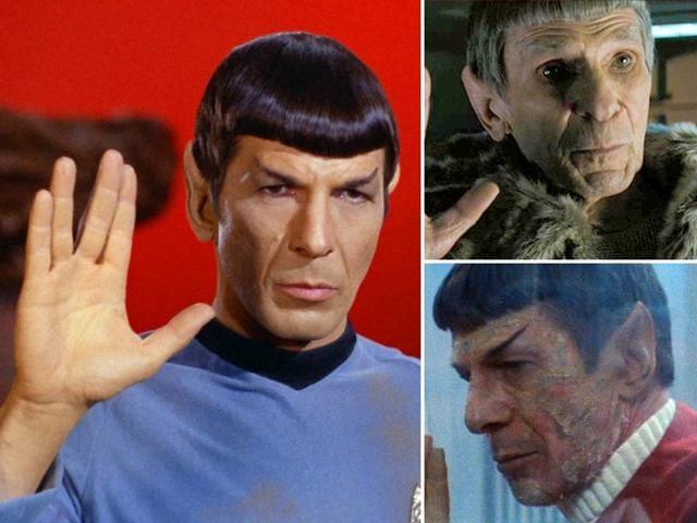 Leonard Nimoy,Spock