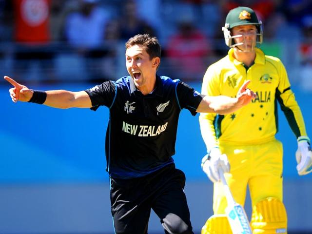 New-Zealand-s-Trent-Boult-celebrates-after-taking-an-Australian-wicket-during-their-2015-World-Cup-match-at-Eden-Park-in-Auckland-AP-Photo