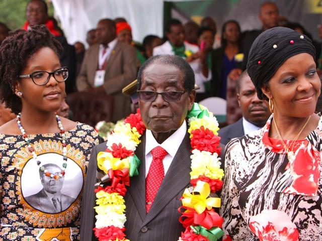 Robert Mugabe,Zimbabwe President,birthday party