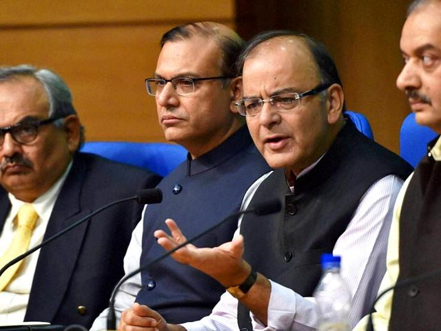 In-the-field-of-indirect-taxation-we-are-in-process-of-creating-history-by-bringing-most-important-indirect-tax-reform-the-GST-Jaitley-said-PTI-file-Photo