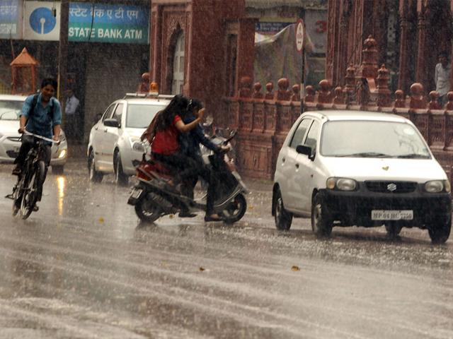 Unseasonal rainfall