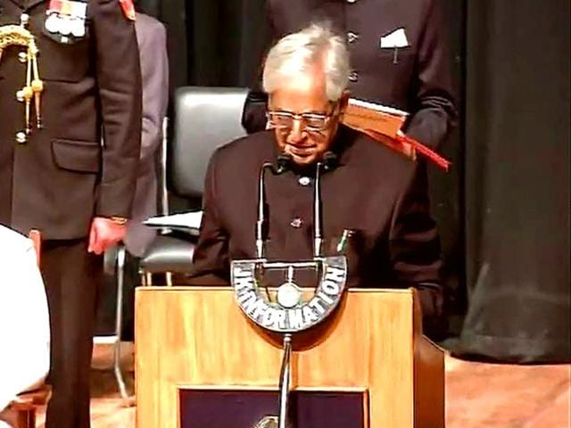 PDP-s-Mufti-Mohammad-Sayeed-takes-oath-as-chief-minister-of-Jammu-and-Kashmir-ANI-Photo