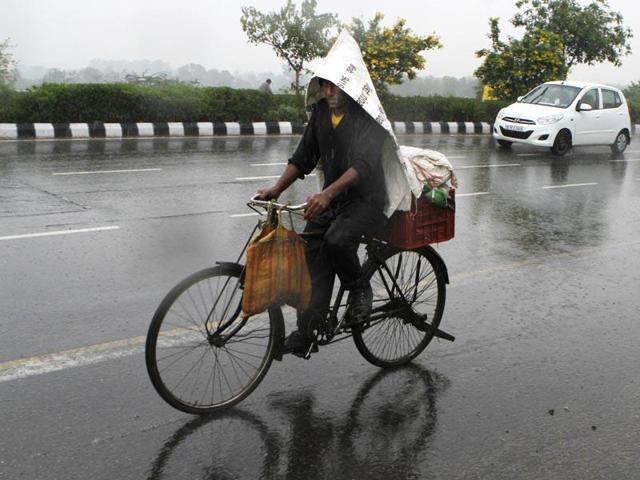Rain lashes parts of Punjab, Haryana