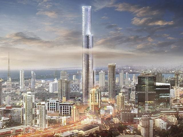 Artistic-impressions-of-The-World-One-Tower-which-was-completed-in-Mumbai-by-2016