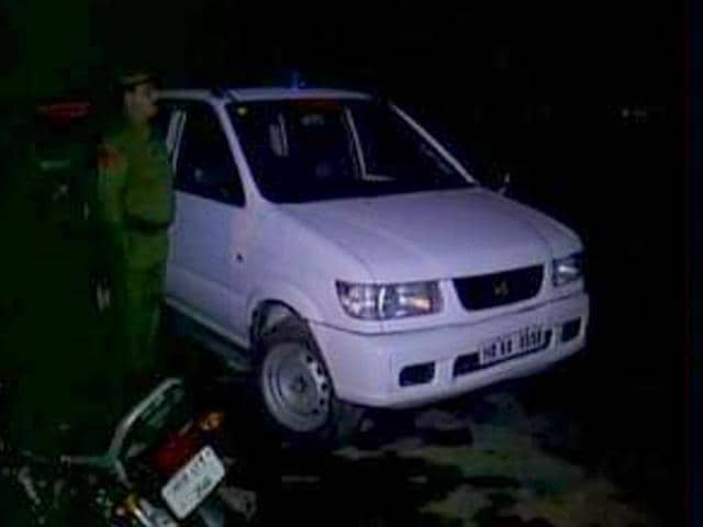 FIR,pilot vehicle,Haryana CM