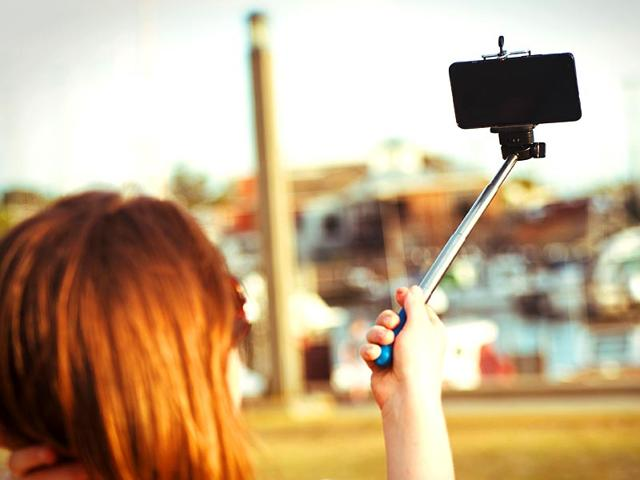 Don't ask why: Selfie sticks have become the newest hotel amenity