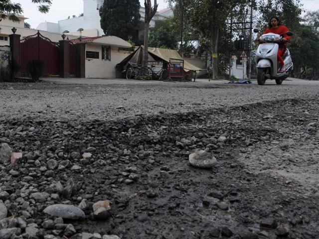 Jalandhar: In two months, Rs 63-lakh road reduced to rubble