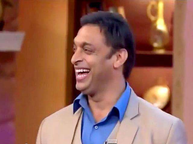 Shoaib Akhtar,Shoaib Akhtar in Comedy nights with Kapil,PCB