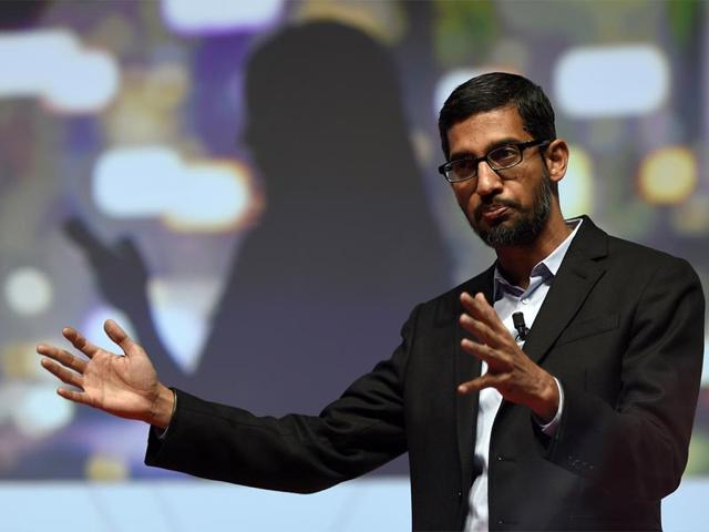 Chennai-born Sundar Pichai studied engineering at IIT-Kharagpur and then went to Stanford in the US. (AFP File Photo)