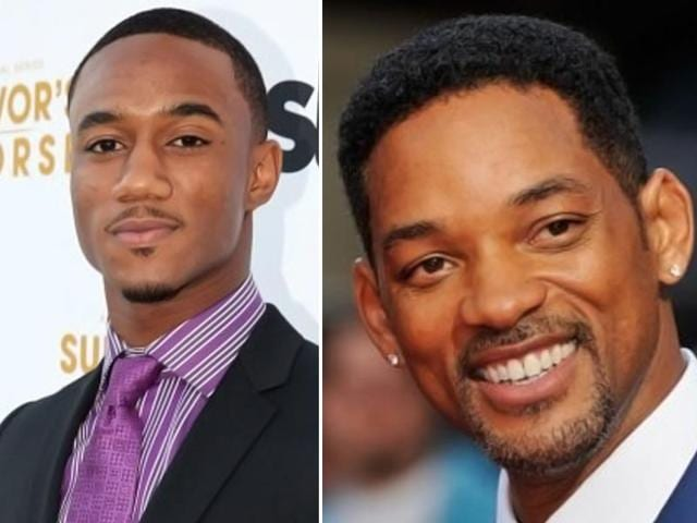 Time-for-son-rise-Jessie-Usher-and-Will-Smith