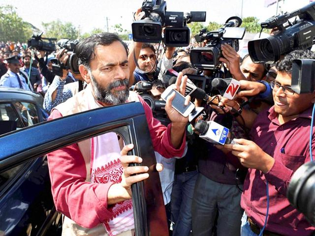 AAP row: Spurious allegations hurt, says Yogendra Yadav