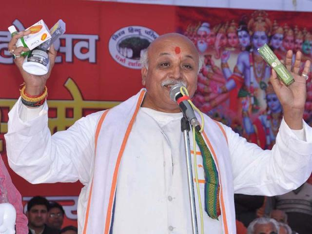 Togadia vows to continue 'ghar wapsi'