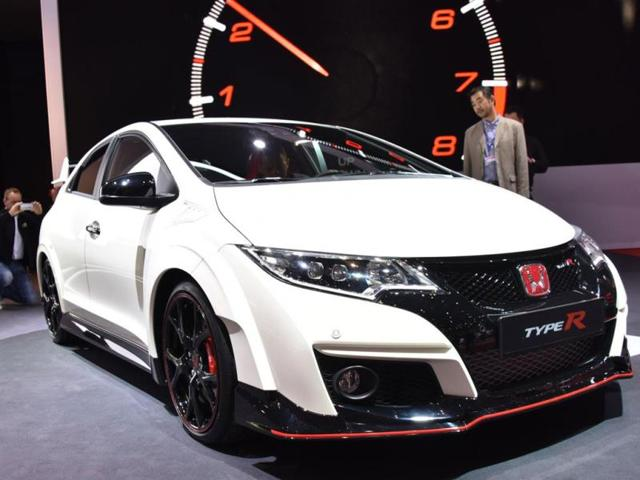 Honda Civic Type R,civic R,Geneva Motor Show