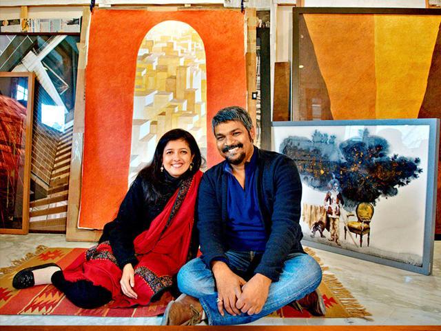 GR Iranna,Delhi's College of Art,Pooja Iranna