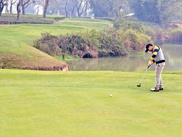 Nine-year-old-golfer-Maitreya-Milan-Saikia-has-won-several-trophies-at-various-golf-tournaments-Parikhit-Saikia-HT-photo-
