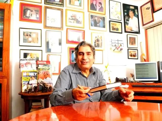 Journalists pay tribute to Vinod Mehta on Twitter