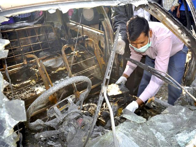 ghaziabad car blast