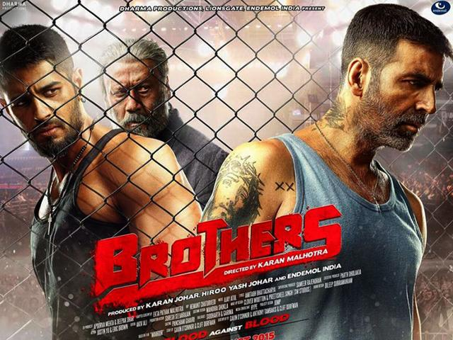 Akshay-Kumar-Sidharth-Malhotra-and-Jackie-Shroff-in-the-first-poster-of-Brothers