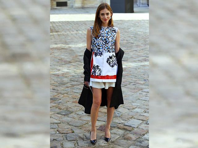Italian-blogger-Chiara-Ferragni-poses-before-Christian-Dior-2015-2016-fall-winter-ready-to-wear-collection-fashion-show-on-March-6-2015-in-Paris-Photo-AFP