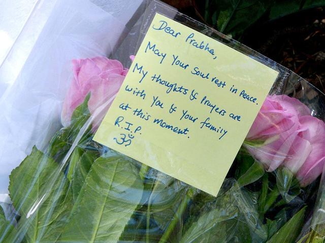 Flowers-are-laid-in-a-Sydney-park-on-the-spot-where-Prabha-Arun-Kumar-41-was-stabbed-to-death-during-a-brutal-attack-while-speaking-by-phone-to-her-distraught-husband-in-India-AFP-Photo