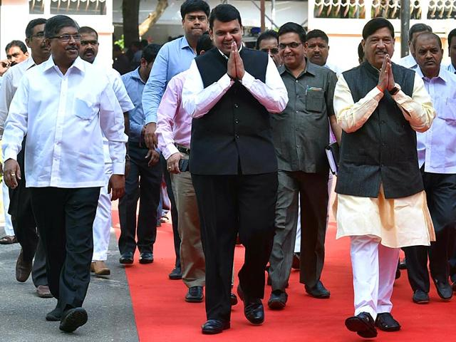 Maharashtra-chief-minister-Devendra-Fadnavis-arrives-for-the-budget-session-of-the-state-legislature-in-Mumbai-HT-photo