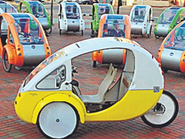 rickshaws,Elf,solar-powered motor