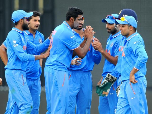 Ravichandran-Ashwin-and-other-Indian-players-celebrate-the-dismissal-of-Ireland-s-Andrew-Balbirnie-during-their-Cricket-World-Cup-Pool-B-match-in-Hamilton-New-Zealand-Tuesday-March-10-2015-AP-Photo