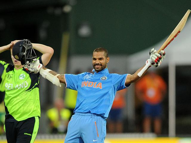 India vs Ireland,Ireland vs India,Shikhar Dhawan