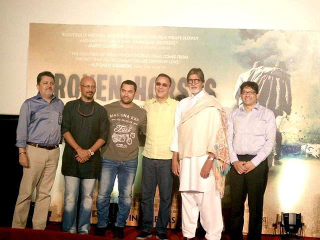 Vidhu Vinod Chopra,Broken Horses,Star Trek