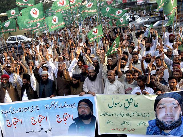 Salman Tasir,blood money,Mumtaz Qadri