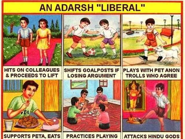 Hashtag war on Twitter,Cartoon war on Twitter,Adarsh Liberal
