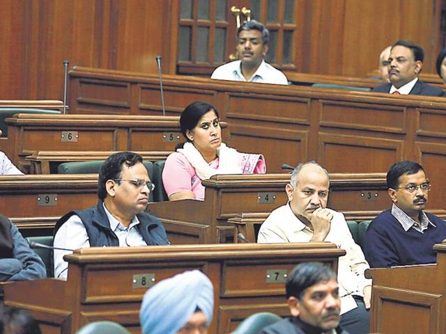 The-AAP-ministers-have-asked-commissioners-and-secretaries-to-give-presentations-based-on-the-party-s-promises-HT-photo-by-Raj-K-Raj