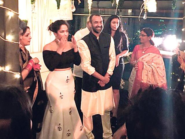 Hitched: Masaba Gupta gets engaged to beau Madhu Mantena
